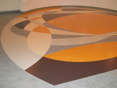 Linoleum Boden