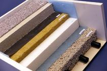 Zement-Estrich Aufbau